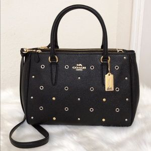 💃COACH Surrey Carryall With Grommets